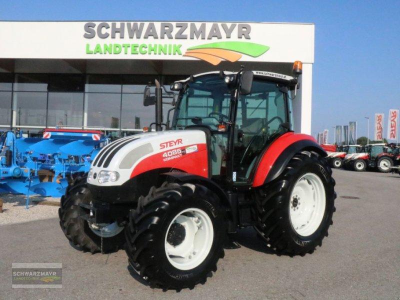 Traktor des Typs Steyr 4085 Kompakt ET Basis, Gebrauchtmaschine in Gampern (Bild 1)