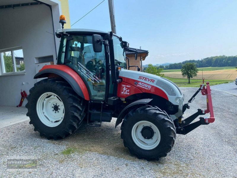 Traktor des Typs Steyr 4085 Kompakt ET Komfort, Gebrauchtmaschine in Aurolzmünster (Bild 1)