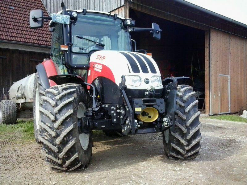 Traktor des Typs Steyr 4085 Kompakt, Gebrauchtmaschine in Vorderschellenabach (Bild 1)