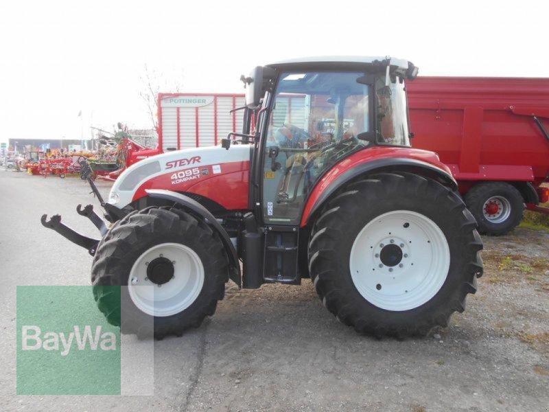 Traktor des Typs Steyr 4095 KOMPAKT, Gebrauchtmaschine in Mindelheim (Bild 3)