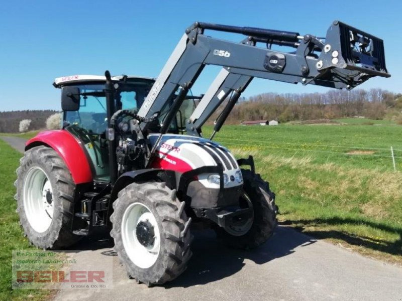 Traktor des Typs Steyr 4095 Multi, Gebrauchtmaschine in Burghaslach (Bild 1)