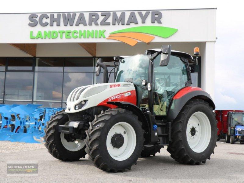 Traktor типа Steyr 4100 Expert CVT, Neumaschine в Gampern (Фотография 1)