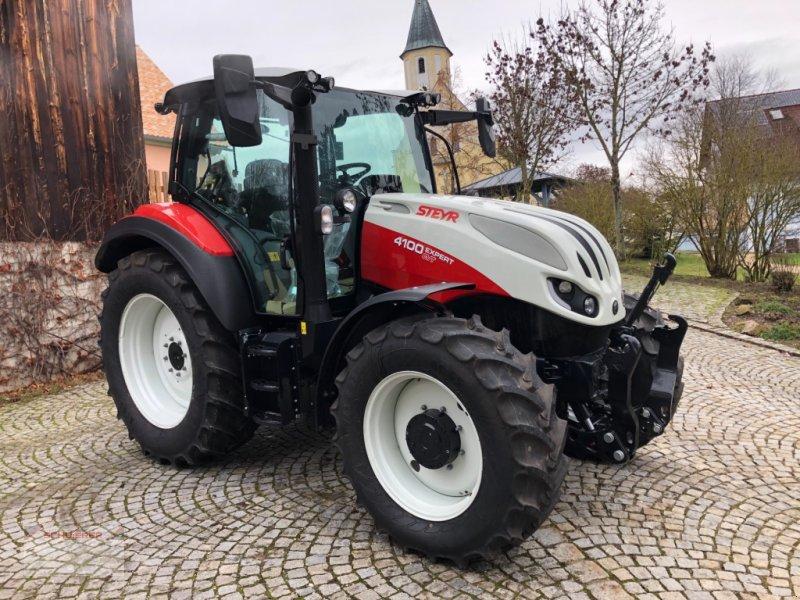 Traktor des Typs Steyr 4100 Expert, Neumaschine in Schwandorf (Bild 1)