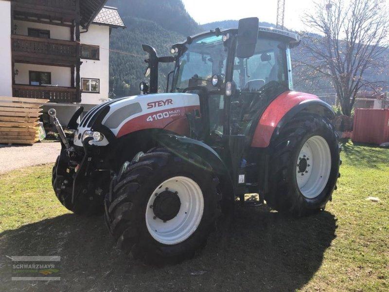 Traktor типа Steyr 4100 Multi, Gebrauchtmaschine в Aurolzmünster (Фотография 1)