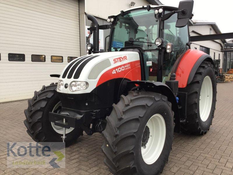 Traktor des Typs Steyr 4100 Multi, Gebrauchtmaschine in Rieste (Bild 1)