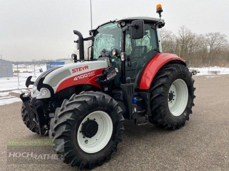 Traktor des Typs Steyr 4100 Multi, Gebrauchtmaschine in Kronstorf (Bild 1)