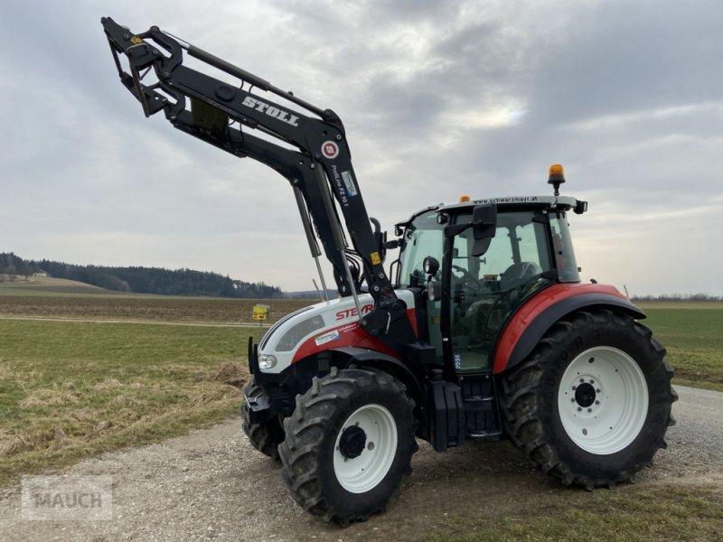 Traktor des Typs Steyr 4105 Kompakt ET Profi, Gebrauchtmaschine in Burgkirchen (Bild 1)