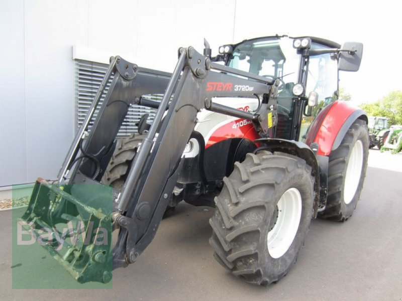 Traktor του τύπου Steyr 4105 MULTI, Gebrauchtmaschine σε Großweitzschen  (Φωτογραφία 1)