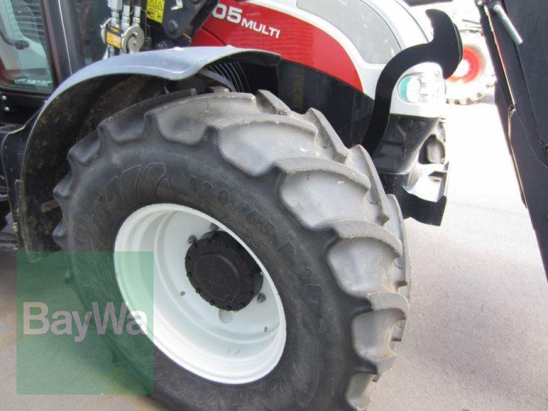 Traktor του τύπου Steyr 4105 MULTI, Gebrauchtmaschine σε Großweitzschen  (Φωτογραφία 4)