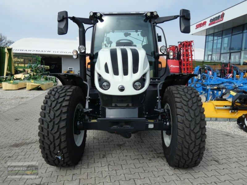 Traktor des Typs Steyr 4110 Expert CVT, Neumaschine in Aurolzmünster (Bild 5)
