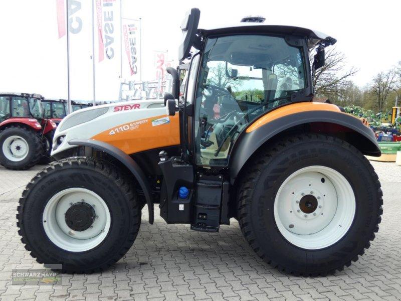 Traktor des Typs Steyr 4110 Expert CVT, Neumaschine in Aurolzmünster (Bild 8)