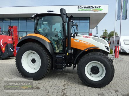 Traktor des Typs Steyr 4110 Expert CVT, Neumaschine in Aurolzmünster (Bild 1)