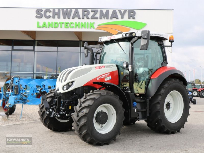 Traktor des Typs Steyr 4110 Expert CVT, Neumaschine in Gampern (Bild 1)