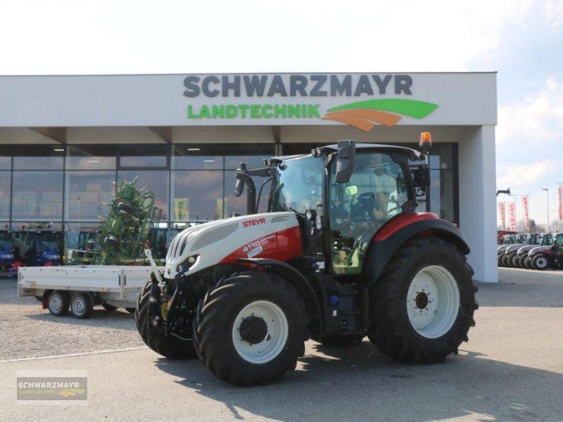 Traktor des Typs Steyr 4110 Expert CVT, Vorführmaschine in Gampern (Bild 1)