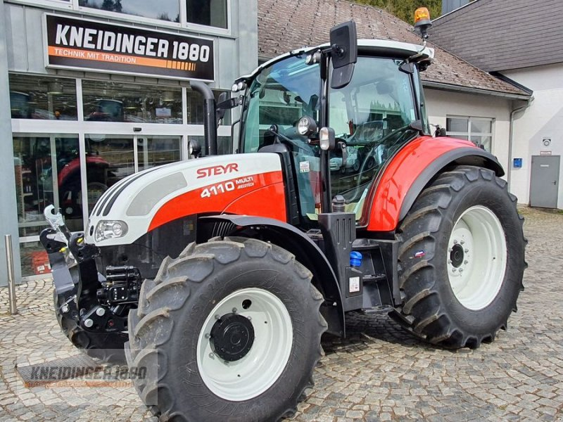 Traktor typu Steyr 4110 Multi, Neumaschine w Altenfelden (Zdjęcie 1)