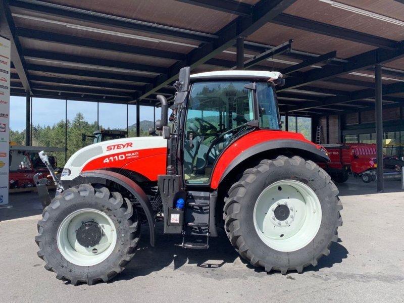 Traktor des Typs Steyr 4110 Multi, Vorführmaschine in Sulzberg (Bild 1)