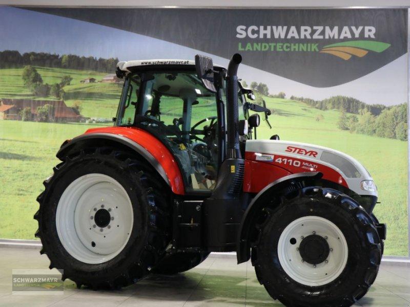 Traktor des Typs Steyr 4110 Multi, Neumaschine in Gampern (Bild 1)