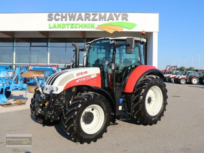 Traktor des Typs Steyr 4110 Multi, Gebrauchtmaschine in Gampern (Bild 1)