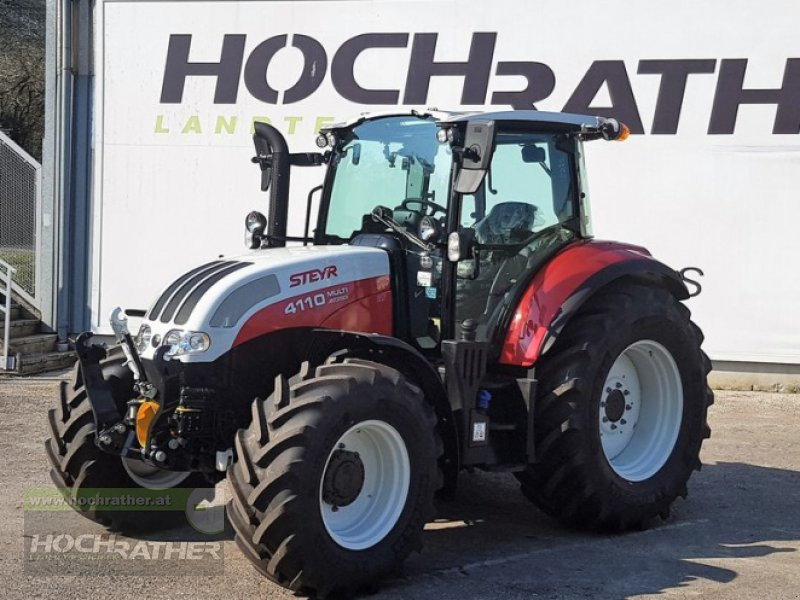 Traktor des Typs Steyr 4110 Multi, Neumaschine in Kronstorf (Bild 1)