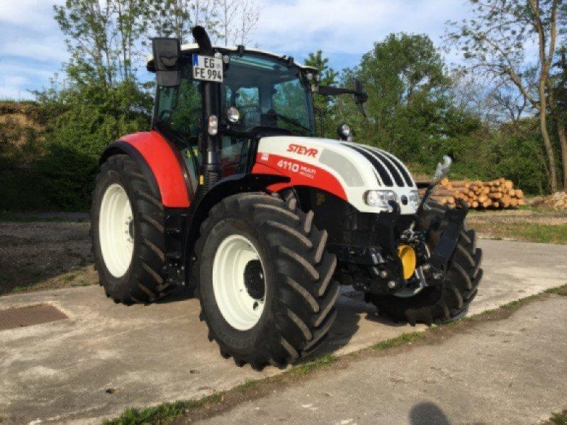 Traktor des Typs Steyr 4110 Multi, Gebrauchtmaschine in Kirchdorf (Bild 1)