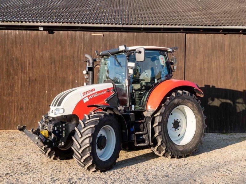 Traktor des Typs Steyr 4110 Profi, Gebrauchtmaschine in Pleiskirchen (Bild 1)