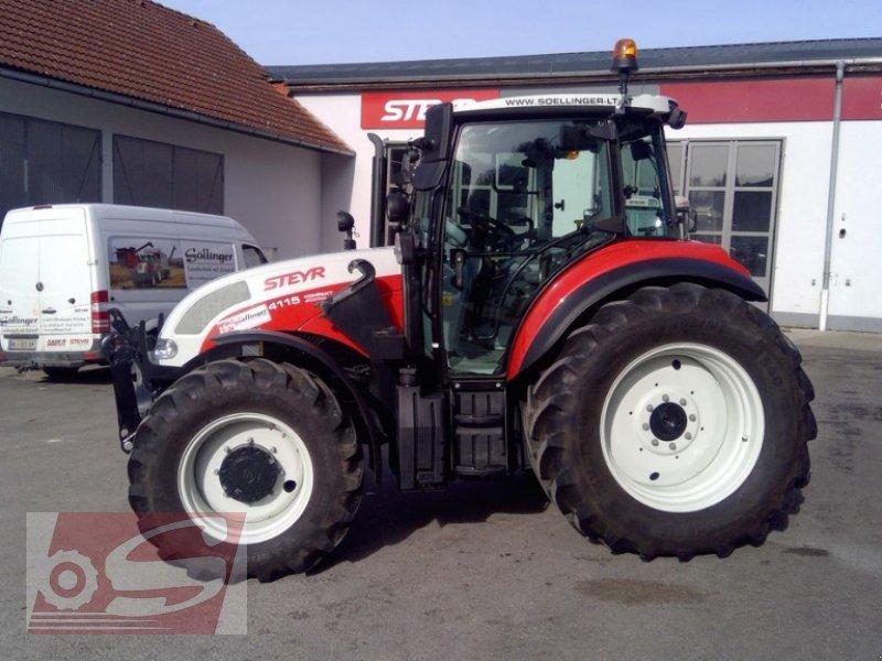 Traktor des Typs Steyr 4115 Kompakt ET Komfort, Gebrauchtmaschine in Offenhausen (Bild 3)