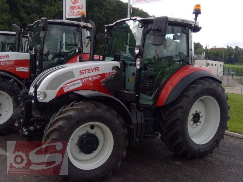 Traktor des Typs Steyr 4115 Kompakt ET Komfort, Gebrauchtmaschine in Offenhausen (Bild 13)
