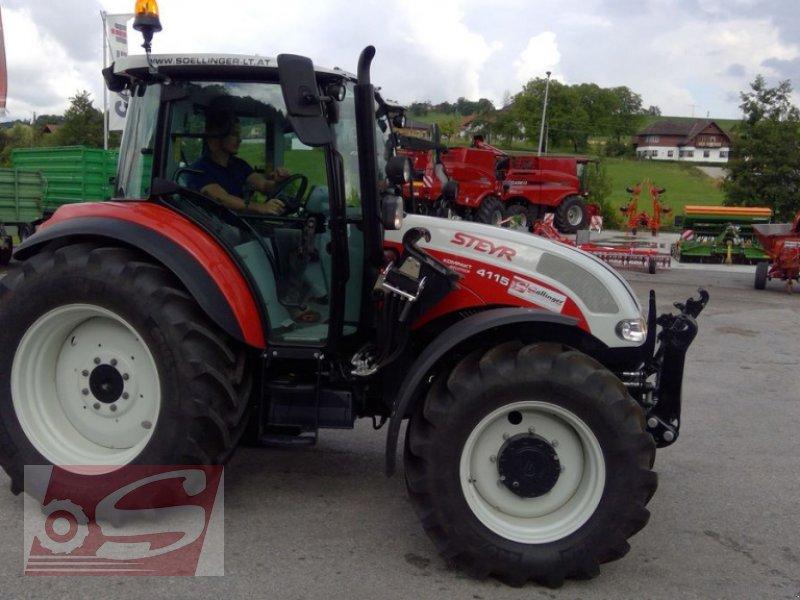 Traktor des Typs Steyr 4115 Kompakt ET Komfort, Gebrauchtmaschine in Offenhausen (Bild 14)