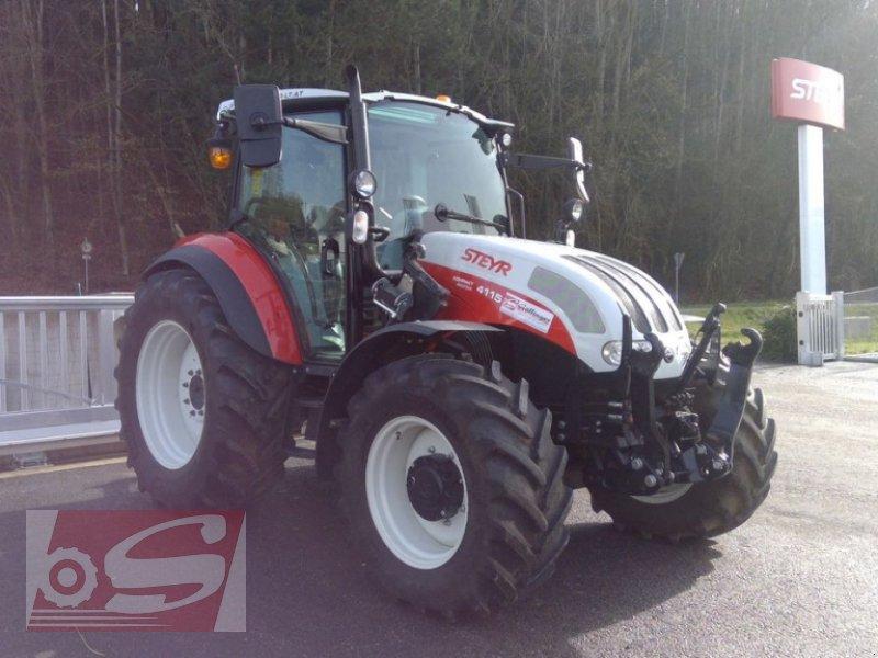 Traktor des Typs Steyr 4115 Kompakt ET Komfort, Gebrauchtmaschine in Offenhausen (Bild 1)