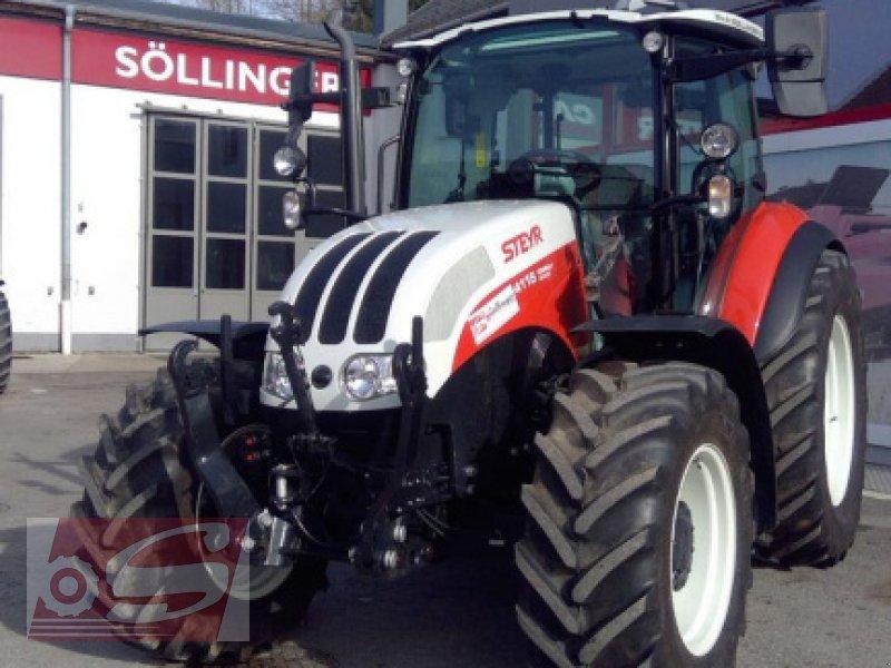 Traktor des Typs Steyr 4115 Kompakt ET Komfort, Gebrauchtmaschine in Offenhausen (Bild 2)