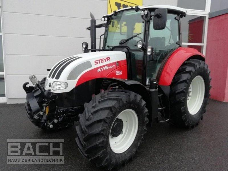 Traktor des Typs Steyr 4115 MULTI ET, Gebrauchtmaschine in Boxberg-Seehof (Bild 1)