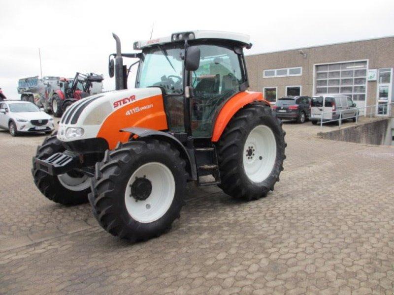 Traktor des Typs Steyr 4115 Profi, Gebrauchtmaschine in Konradsreuth (Bild 1)