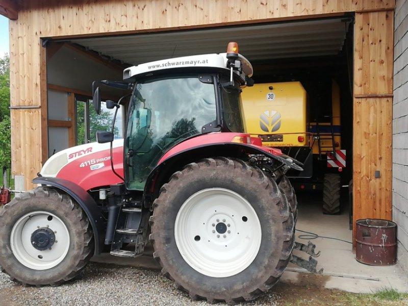 Traktor des Typs Steyr 4115 Profi, Gebrauchtmaschine in Haigermoos (Bild 1)