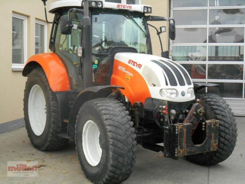 Traktor des Typs Steyr 4115, Gebrauchtmaschine in Holzhausen (Bild 1)