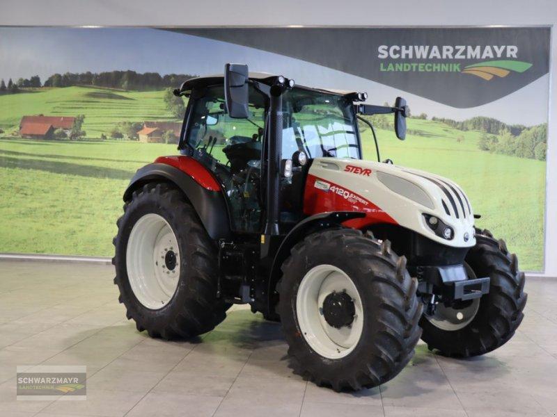 Traktor del tipo Steyr 4120 Expert CVT, Neumaschine en Aurolzmünster (Imagen 1)
