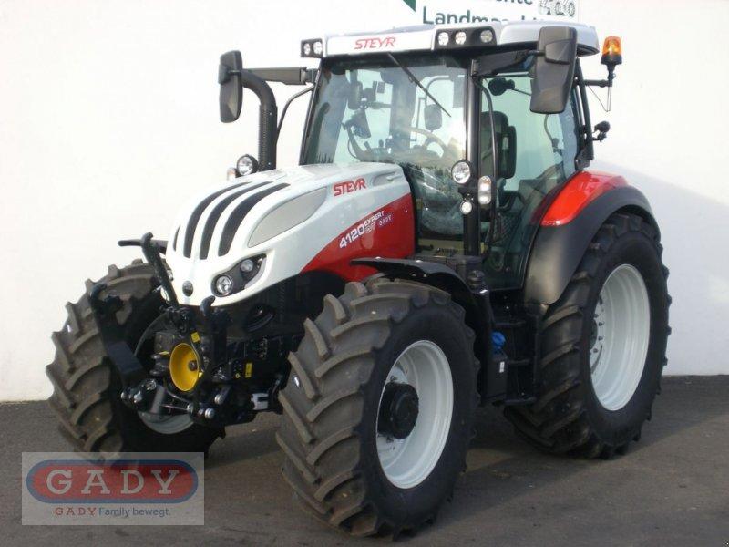 Traktor des Typs Steyr 4120 Expert CVT, Vorführmaschine in Lebring (Bild 1)