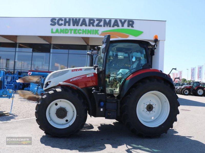 Traktor des Typs Steyr 4120 Expert CVT, Neumaschine in Gampern (Bild 1)