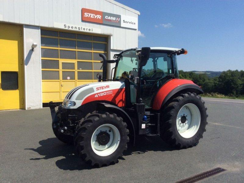 Traktor des Typs Steyr 4120 Multi, Vorführmaschine in Mariasdorf (Bild 1)
