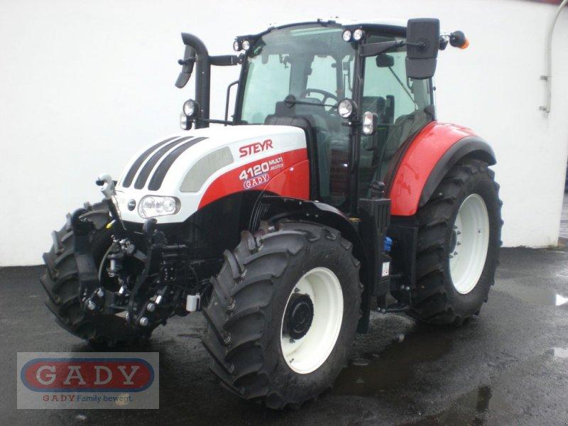 Traktor des Typs Steyr 4120 Multi, Vorführmaschine in Lebring (Bild 1)