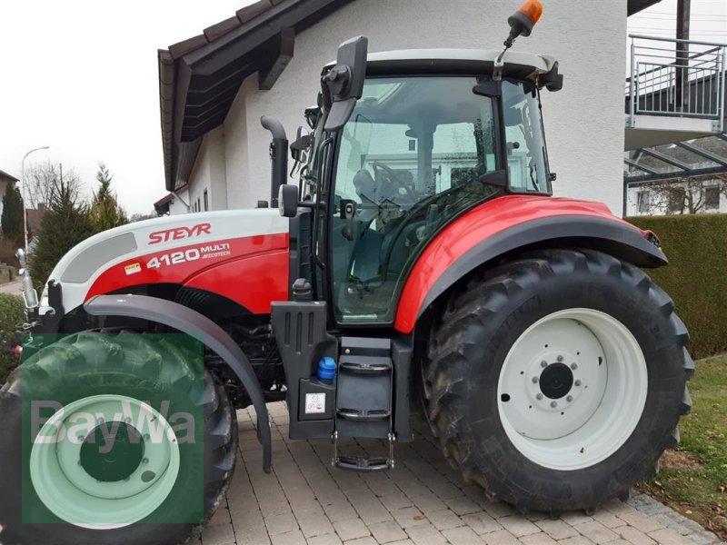 Traktor des Typs Steyr 4120 Multi, Gebrauchtmaschine in Ehingen