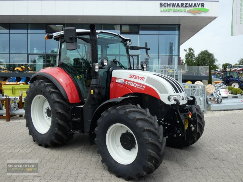 Traktor typu Steyr 4120 Multi, Vorführmaschine w Gampern (Zdjęcie 1)