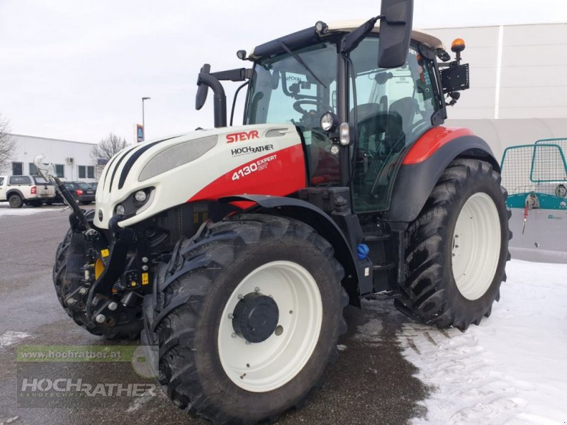 Traktor des Typs Steyr 4130 Expert CVT, Gebrauchtmaschine in Kronstorf (Bild 1)