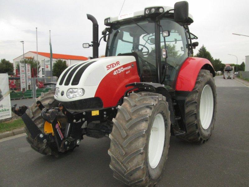 Traktor des Typs Steyr 4130 Profi CVT, Gebrauchtmaschine in Wülfershausen an der Saale (Bild 2)