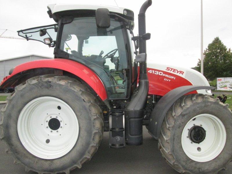 Traktor des Typs Steyr 4130 Profi CVT, Gebrauchtmaschine in Wülfershausen an der Saale (Bild 4)