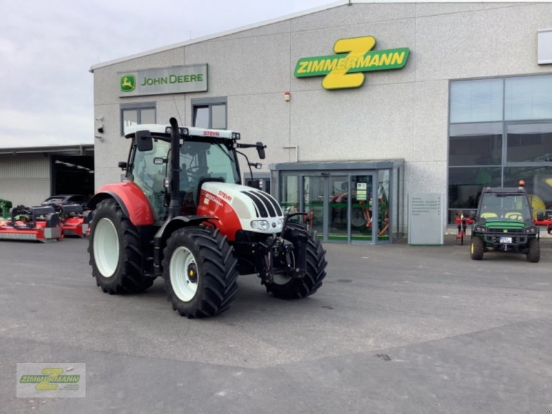Traktor типа Steyr 4130 Profi, Gebrauchtmaschine в Euskirchen (Фотография 1)