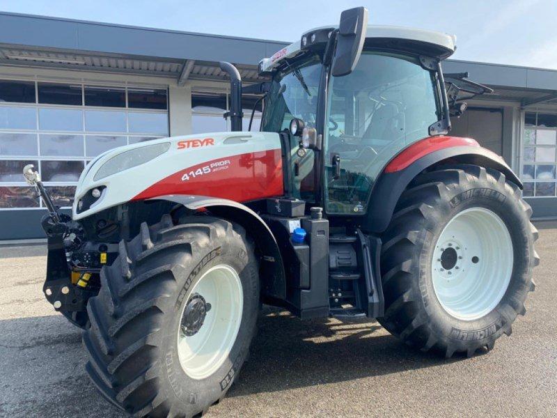 Traktor типа Steyr 4145 MC, Ausstellungsmaschine в Steinmaur (Фотография 1)