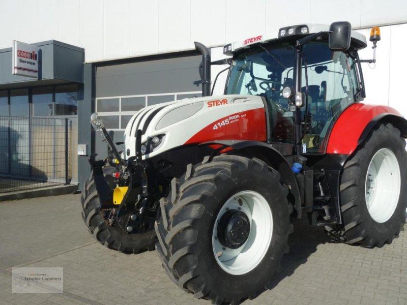 Traktor des Typs Steyr 4145 Profi CVT GPS FZW, Gebrauchtmaschine in Borken (Bild 1)