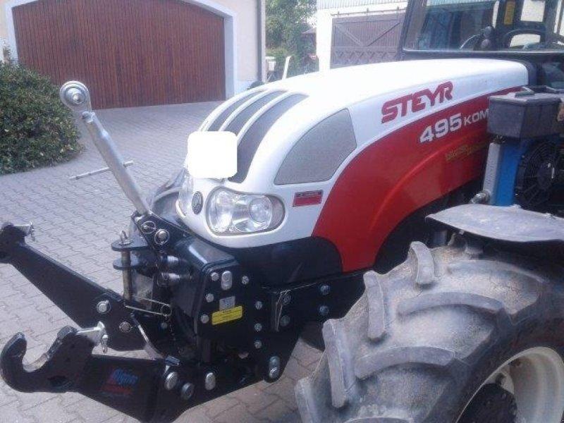 Traktor des Typs Steyr 495 Kompakt, Gebrauchtmaschine in Abensberg (Bild 5)