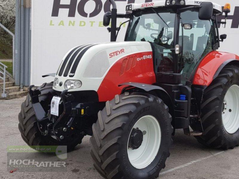 Traktor des Typs Steyr 6145 CVT Profi, Gebrauchtmaschine in Kronstorf (Bild 1)