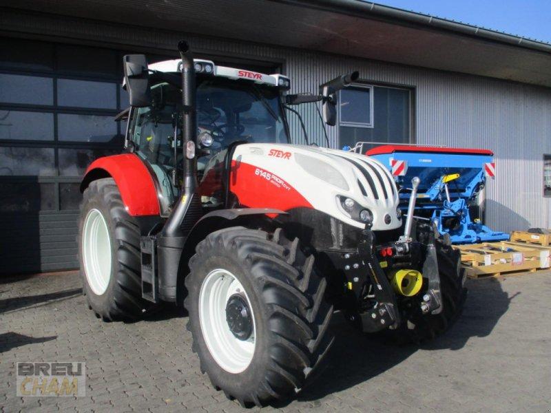 Traktor des Typs Steyr 6145 Profi CVT, Gebrauchtmaschine in Cham (Bild 1)